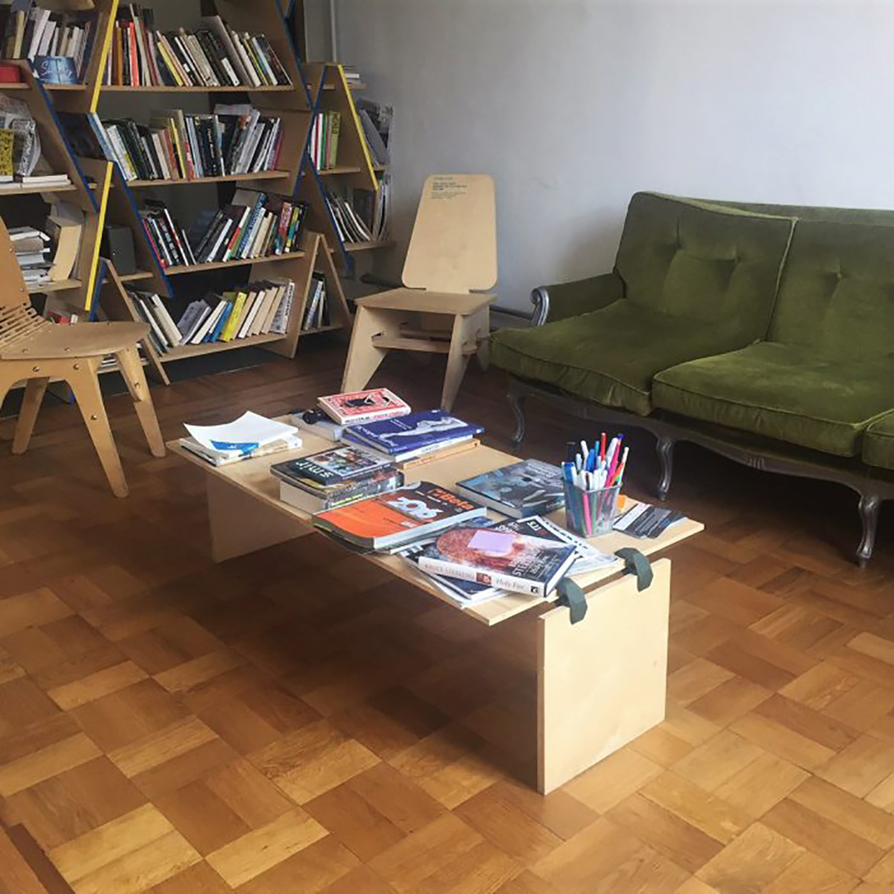 A coffee table for the living room