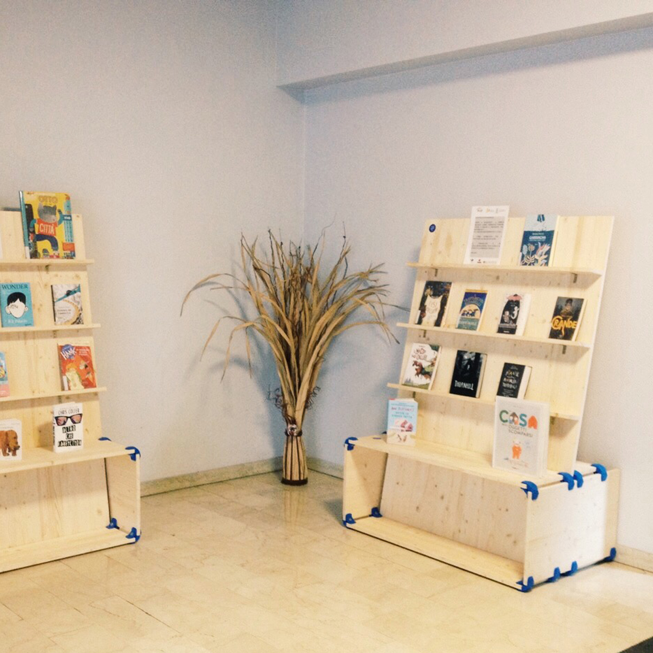 Playwood projects - Functional book display