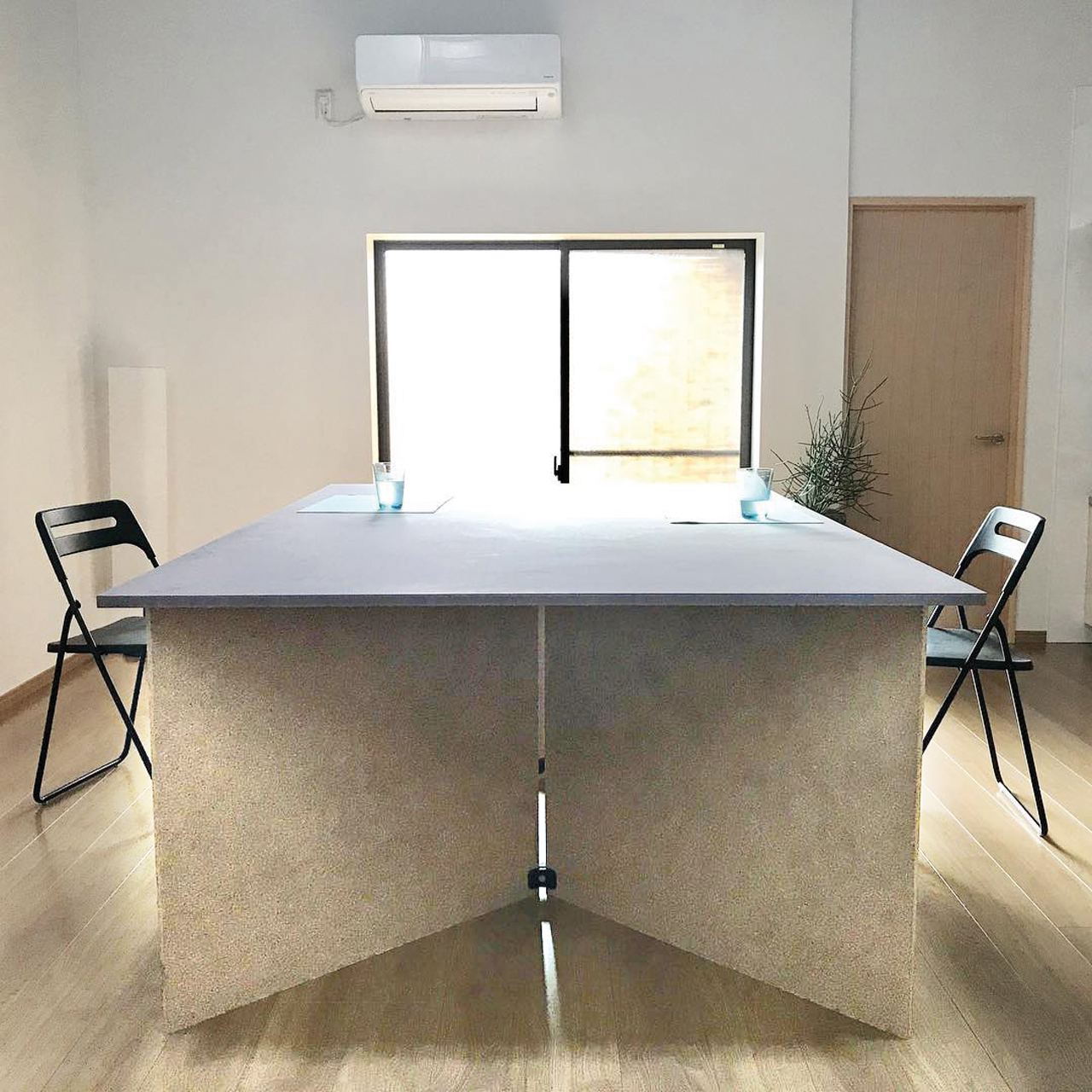Playwood projects - Temporary office table