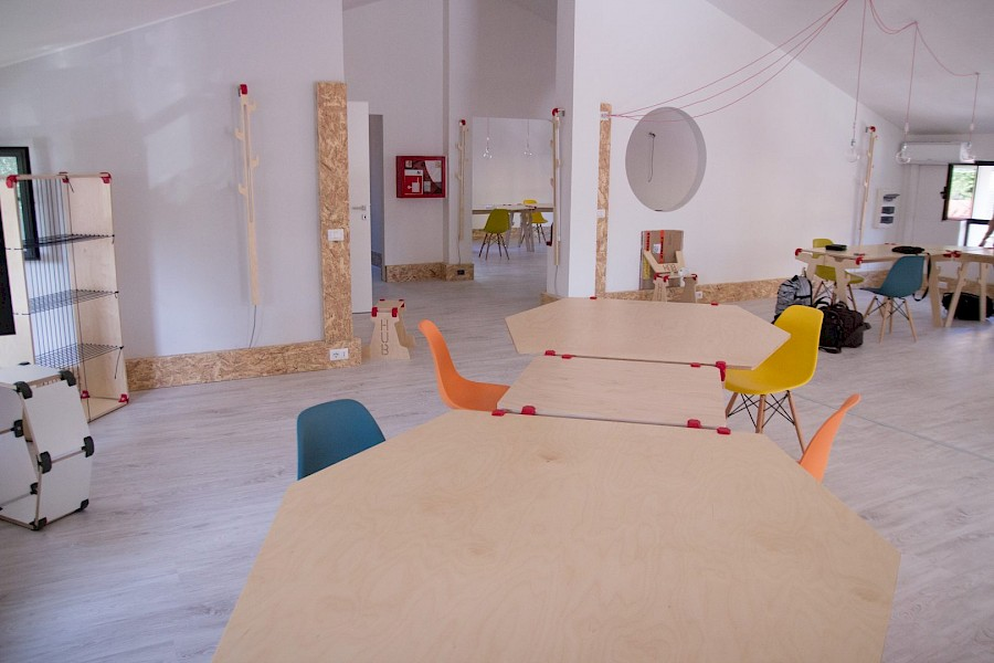 Impact Hub – the place where the furniture changes along with your project