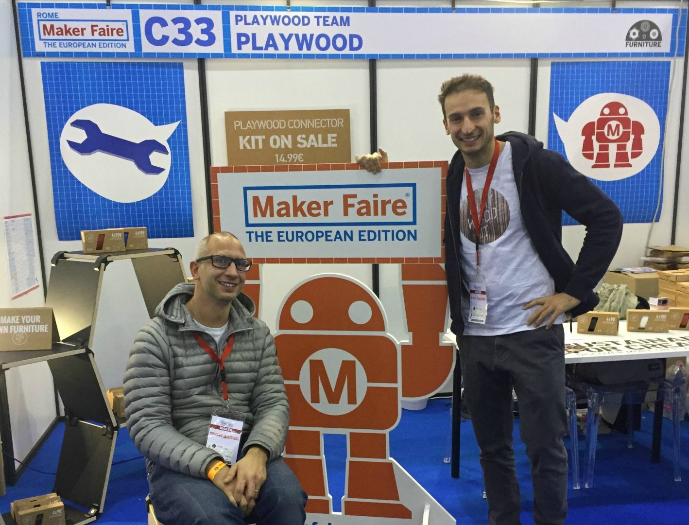 PlayWood a Maker Faire Rome – The European Edition 4.0