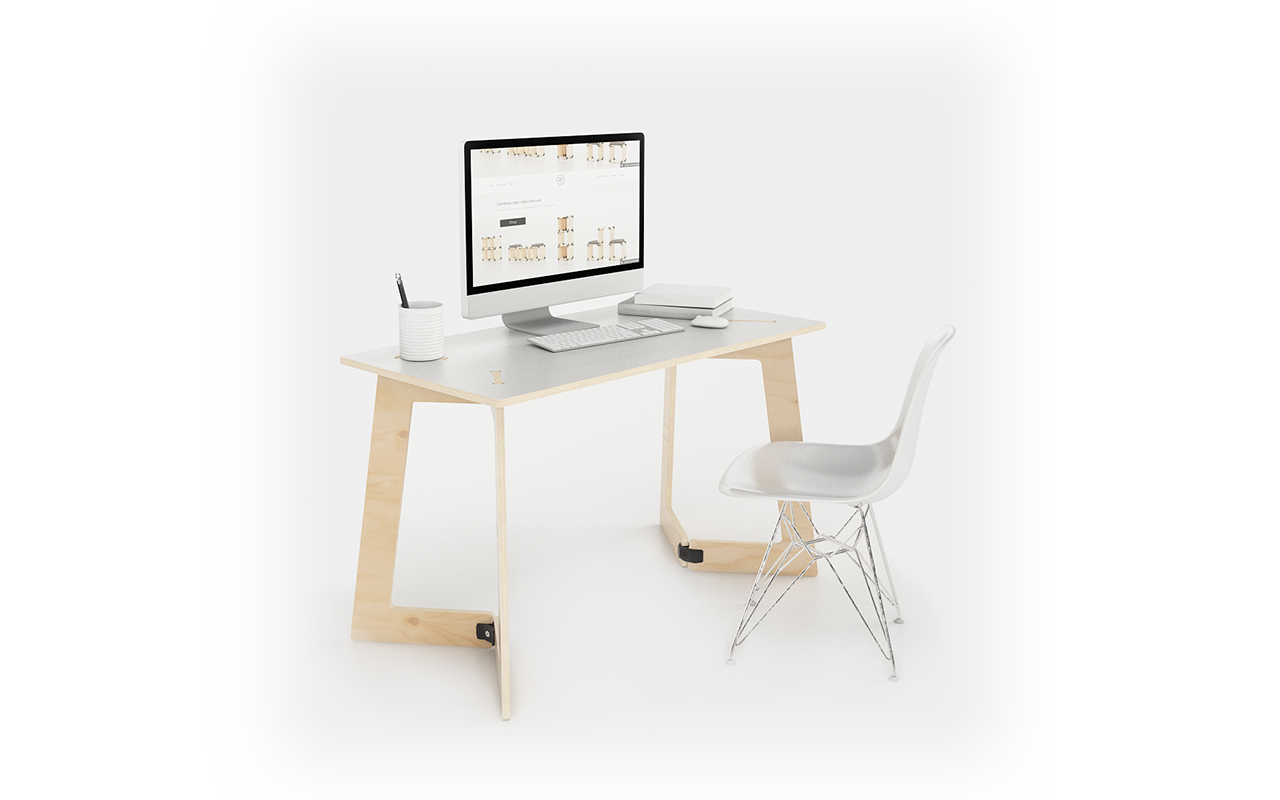 playwood set-up KARYA desk 120