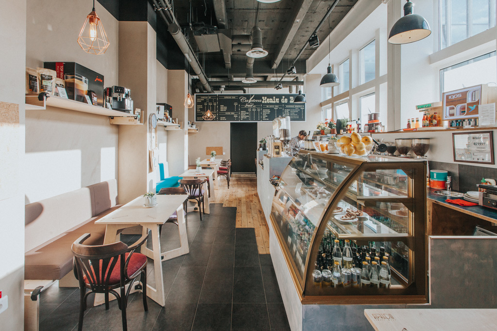 Cafeteca Business Park: the new concept of Cafè in Brasov, Romania
